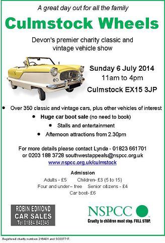 Culmstock Car Show