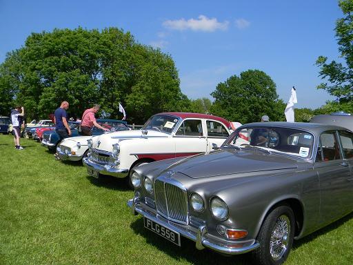 Crow Nest Park Dewsbury Car Show